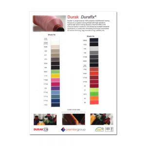 Colour Chart - Durafix Thread Range