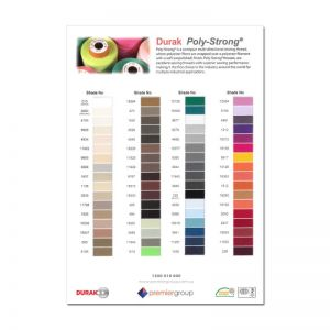 Colour Chart - PolyStrong Thread Range
