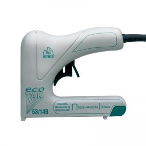 RO-MA Ecotak D.I.Y. 53 Series Electric Staple & Nail Gun (Made in Italy)