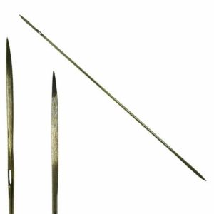 Straight Double Bayonet Point Needles