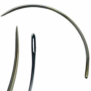 Curved Single Round Point Needle
