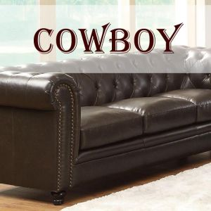 Cowboy P.U. Vinyl Range (with Leather Backing) FR
